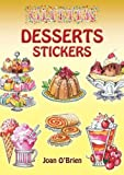 img - for Glitter Desserts Stickers book / textbook / text book