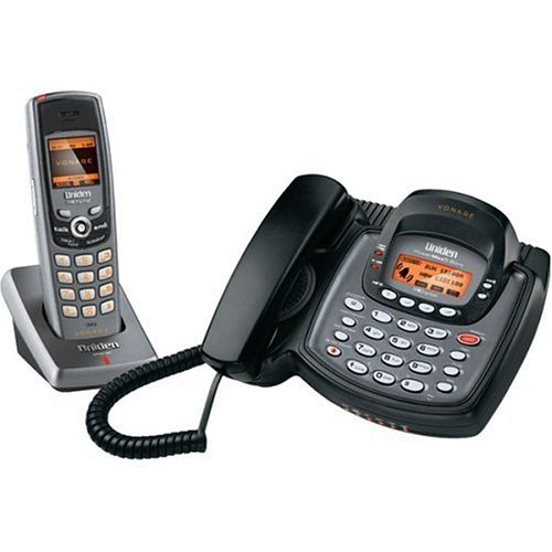 Uniden Uip1869V Expandable Vonage Internet Phone System