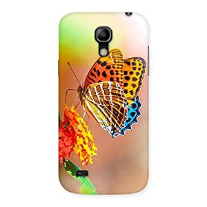 Cute Queen Butterfly Back Case Cover for Galaxy S4 Mini