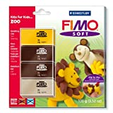 Staedtler Fimo Soft Set Kits For Kids Zoo 8024 39 L2