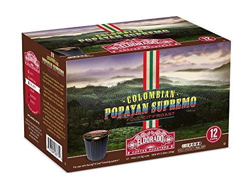Eldorado Coffee Roasters Colombian Popayan Supremo Single Cup Capsules - 96 Capsules