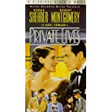 Private Lives [VHS] ~ Norma Shearer