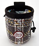 Pure Grit Bahamas Chalk Bag (USA made) (Medium 5 1/2″ height by 4 1/2″ diameter)