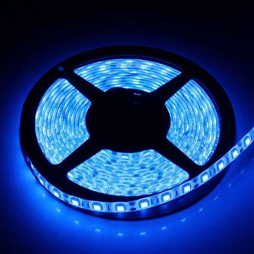 Xkttsueercrr (Blue) 5M Waterproof 300 Led 3528 Smd Flexible Led Light Lamp Strip (12V)