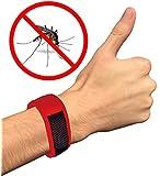 Natural Mosquito Repellent Bracelet - 2 Free Refills + Ebook Gift No Deet Best Mosqitoes Repellant for Babies, Kids, Women and Men