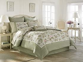 Laura Ashley Avery Bed In A Bag King Bedding Sets King Price Vfsjzghf