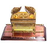 Large Ark of The Covenant on Copper Base