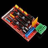 OSOYOO 3D Printer Kit Controller RAMPS 1.4 + Mega 2560 R3 + 5pcs A4988 Stepper Motor Driver with Heatsink + LCD 12864 Graphic Smart Display Controller with Adapter For Arduino RepRap by Shenzhen vership Co. LTD