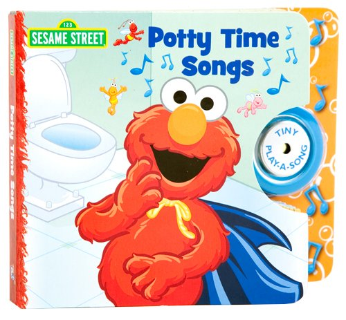 Elmo'S Potty Time Tiny Play-A-Song Book front-768257