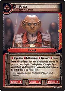 Star Trek Ccg 2e Tbg To Boldly Go Quark Son Of Keldar 8u79