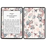 Diabloskinz Vinyl Adhesive Skin Decal Sticker for Amazon Kindle Paperwhite - Peacock