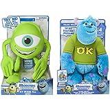 Disney Monsters University My Scare Pal Mike Plush & Talkin' Sulley Plush Bundle Set
