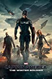 GB eye Captain America Winter Soldier One Sheet Maxi Poster, Multi-Colour