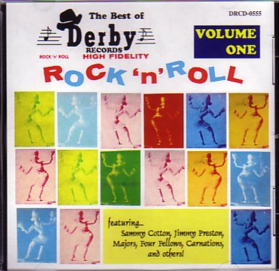 The Best of Derby Records - Volume One by Sammy Cotton, Freddie Mitchell, Four Fellows, Jimmy Preston and Honey Brown