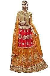 Manvaa Women's Multi Colour Bollywood style lehenga choli