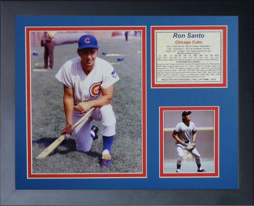 "Ron Santo 11"" x 14"" Framed Photo Collage by Legends Never Die, Inc. at Amazon.com"