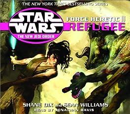 "Cover of ""Force Heretic II: Refugee (Star..."