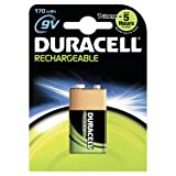 Duracell Rechargeable 9 V Batteries