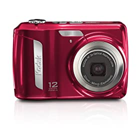 Kodak EasyShare C143 Digital Camera (Red)