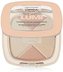 L'Oreal Paris Cosmetics True Match Lumi Powder Glow Illuminator, Rose, 0.31 Ounce
