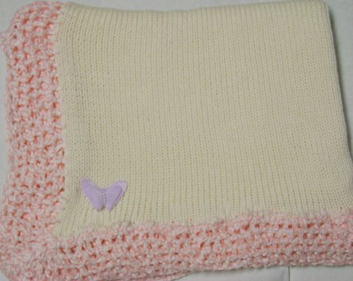 Hand Knitted Baby Blanket back-334757