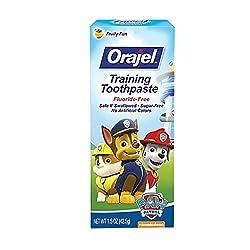 Orajel Toddler Training Toothpaste Tooty Fruity Flavor 1.50 Oz