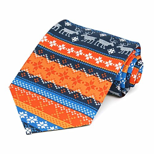 TieMart Ugly Christmas Sweater Necktie (Ugly Ties For Men compare prices)