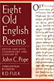 Eight Old English Poems