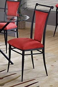 Hillsdale Furniture 4592-807 Cierra Set Dining Chair, Black (2