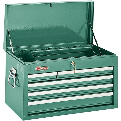 Grizzly H0838 6 Drawer Top Chest w Ball Bearing SlidesB0000DD1N4 : image