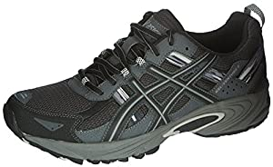 ASICS Men's Gel Venture 5 Running Shoe, Black/Onyx/Charcoal, 10 M US