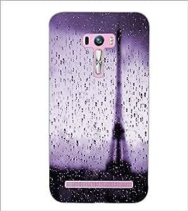 PrintDhaba Wet Tower D-2816 Back Case Cover for ASUS ZENFONE SELFIE ZD551KL (Multi-Coloured)
