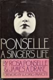 img - for Ponselle: A Singer's Life book / textbook / text book