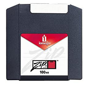 Iomega Zip 100MB Disk Mac Formatted (10-Pack) (Discontinued by Manufacturer)
