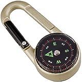 Munkees Karabinerkompass mit Thermometer Schlüsselanhänger