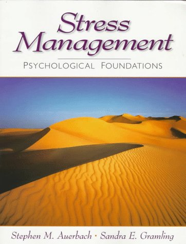 Stress Management: Psychological Foundations