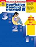 Evan Moor Educational Publishers 3317 Nonfiction Reading Practice, Grade 6
