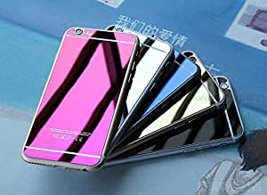 Colour (ROSEGOLD) Tempered Glass For IPHONE 5 FRONT & BACK