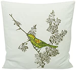 Newport Throw Pillows Birds : Amazon.com: Newport Layton Home Fashions Bird Call Knife Edge Polyester Filled Pillow, 20-Inch ...