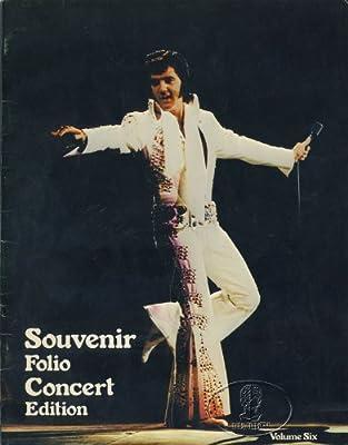 Elvis Presley 1976 Tour Concert Program Programme Book