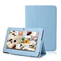 NSSTAR Slim Fit Universal Pu Leather Flip Folio Stand Protection Case Cover Specifically designed For Q88 Tablet 7 Inch Android Tablet 8 Color Options (Blue) from NSSTAR