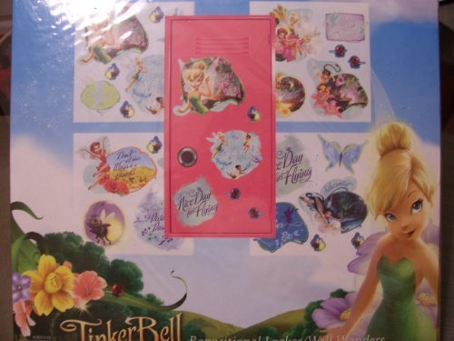 Disney Fairies Tinkerbell Repositional Locker/wall Wonders - 1