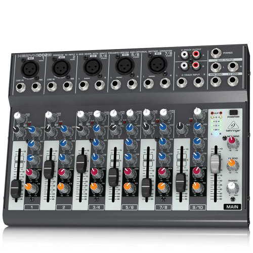 Behringer Xenyx 1002B front-494668