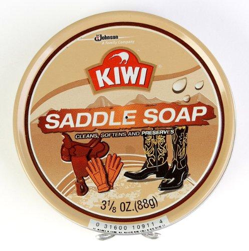 Kiwi Saddle Soap, 3-1/8 Oz, 3-Pack