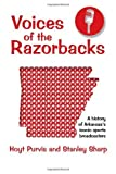 img - for Voices of the Razorbacks by Hoyt Purvis (2013-09-01) book / textbook / text book