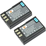 DSTE 2x EN-EL9 Rechargeable Li-ion Battery for Nikon D40 D40x D60 D3000 D5000 Camera