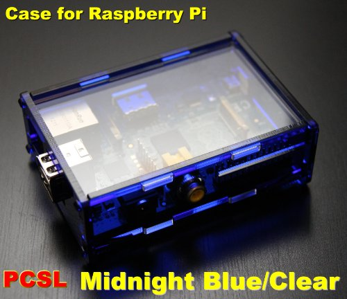 PCSL / Adafruit Midnight Blue – Case / Box / Enclosure for Raspberry Pi Computers – Manufactured in the UK with permission by Adafruit Industries – Licensed Product – FREE Amazon UK Delivery
