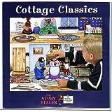 "5 Cottage Classic Fairy Tale Stories: 64 Felt Figures+ 23"" X 31"" Flannel Board +Lessons +Cd Precut Large Size"