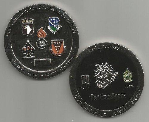 US Army Bravo Maintenance Company 801st Brigade Support Battalion Challenge Coin