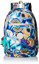 Kipling Challenger II Print Multipurpose Backpack, Graph Multi